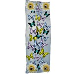 Butterfly and Daisy body pillow - Body Pillow Case Dakimakura (Two Sides)