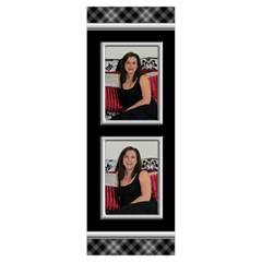 Black And Silver Body Pillow (2 Sided) By Deborah   Body Pillow Case Dakimakura (two Sides)   Gu5gdg12cwl0   Www Artscow Com Back