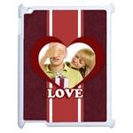 love - Apple iPad 2 Case (White)