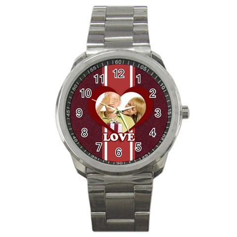Love By May   Sport Metal Watch   5x6x30bpsr9t   Www Artscow Com Front