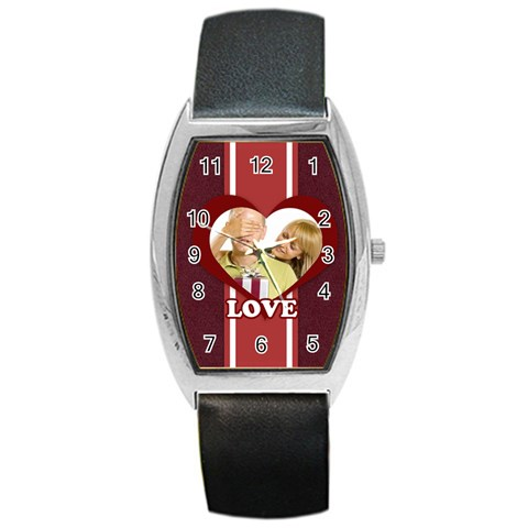 Love By May   Barrel Style Metal Watch   Xo92xw964ri2   Www Artscow Com Front