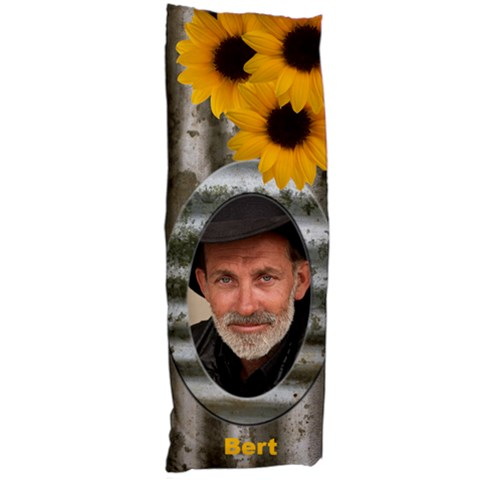 Sunflower Body Pillow By Deborah   Body Pillow Case (dakimakura)   R2e9x3nn8ltg   Www Artscow Com Body Pillow Case