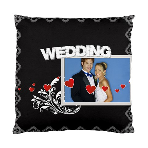 Wedding By Joely   Standard Cushion Case (one Side)   Eog8aoioh20y   Www Artscow Com Front