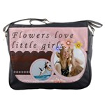flower theme - Messenger Bag