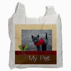 Pet By Joely   Recycle Bag (two Side)   Cet6efyiwlb3   Www Artscow Com Front