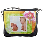 flower baby - Messenger Bag