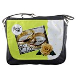 Lovely bag with flower yellow - Messenger Bag