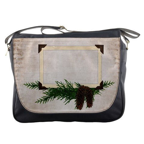 Woodsy Messenger Bag By Laurrie   Messenger Bag   Dyykffqu142u   Www Artscow Com Front