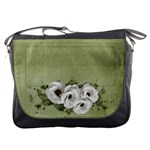 Lisianthus Flower Messenger Bag