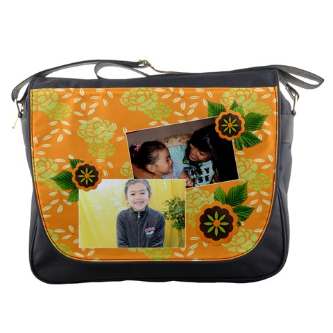 Messenger Bag   Happiness 4 By Jennyl   Messenger Bag   1h70f4tsl4qz   Www Artscow Com Front