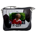Soccer/Football-Messenger Bag