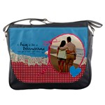Hug Quote-Messenger Bag