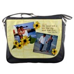 Love Quote, Edgar Allan Poe-Messenger Bag
