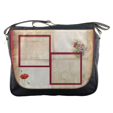 poppy Messenger Bag by Catvinnat Front