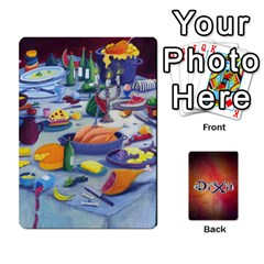 Dixit 1 By Pixatintes   Playing Cards 54 Designs   Bs4r3r8fn021   Www Artscow Com Front - Diamond2