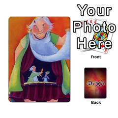 Dixit 1 By Pixatintes   Playing Cards 54 Designs   Bs4r3r8fn021   Www Artscow Com Front - Club4