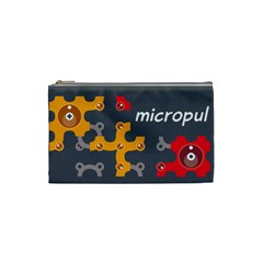 Micropul #2 (s) By Karsten   Cosmetic Bag (small)   Lt22xed6yvqq   Www Artscow Com Front