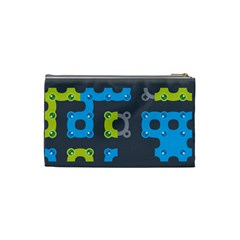 Micropul #2 (s) By Karsten   Cosmetic Bag (small)   Lt22xed6yvqq   Www Artscow Com Back