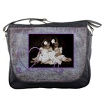 Purple Heart Messenger bag
