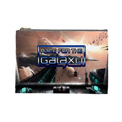 Race For The Galaxy (l) By Karsten   Cosmetic Bag (large)   Evvkry0aqt7d   Www Artscow Com Front