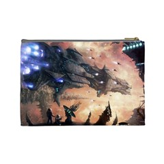 Race For The Galaxy (l) By Karsten   Cosmetic Bag (large)   Evvkry0aqt7d   Www Artscow Com Back