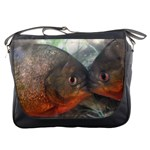 Messenger Bag - Kissing Fish