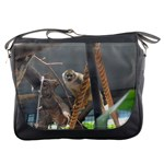 Messenger Bag - Interested Monkey
