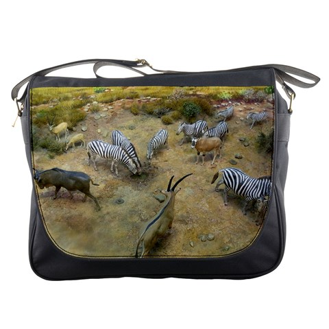 Messenger Bag   Wild Animals By Jenessa   Messenger Bag   Cszgmvb11ef5   Www Artscow Com Front