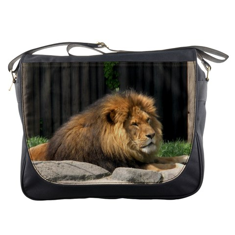 Messenger Bag   Relaxed Lion By Jenessa   Messenger Bag   Sci5if0oqdht   Www Artscow Com Front