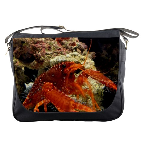 Messenger Bag   Crab By Jenessa   Messenger Bag   1m2n0mc3dv4d   Www Artscow Com Front
