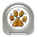 Tiger Paw Travel Alarm Clock
