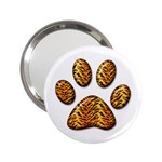 Tiger Paw 2.25  Handbag Mirror