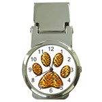 Tiger Paw Money Clip Watch