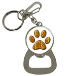 Tiger Paw Bottle Opener Key Chain