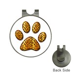 Tiger Paw Golf Ball Marker Hat Clip