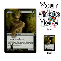 Tokens Wolf Plant By Ben Hout   Multi Purpose Cards (rectangle)   Zbgyp7yc2lsj   Www Artscow Com Front 53