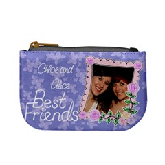 Best Friends Forever By Claire Mcallen   Mini Coin Purse   Efuvei643503   Www Artscow Com Front