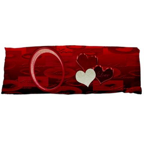I Heart You Red Body Pillow Case By Ellan   Body Pillow Case (dakimakura)   Lkj1zqleqvik   Www Artscow Com Body Pillow Case