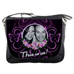 This is us butterfly messenger bag