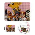 Dogs Are Fun  Playing Cards Single Design