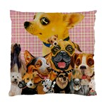 Dogs Are Fun  Cushion Case (Two Sides)