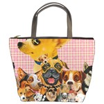 Dogs Are Fun  Bucket Bag