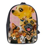 Dogs Are Fun  School Bag (Large)