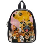 Dogs Are Fun  School Bag (Small)