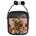 Dogs Are Fun  Girls Sling Bag