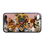 Dogs Are Fun  Apple iPhone 4 Case (Black)