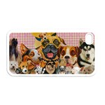 Dogs Are Fun  Apple iPhone 4 Case (White)
