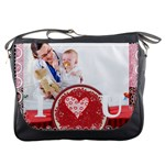 I love you - Messenger Bag