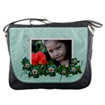 Messenger Bag -Flower Love