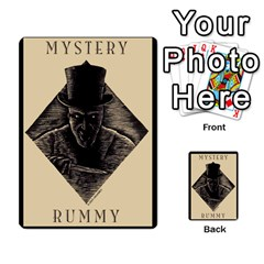 Kgb 1   Jack 2 By Pixatintes   Multi Purpose Cards (rectangle)   8ymciacwhjkt   Www Artscow Com Back 2